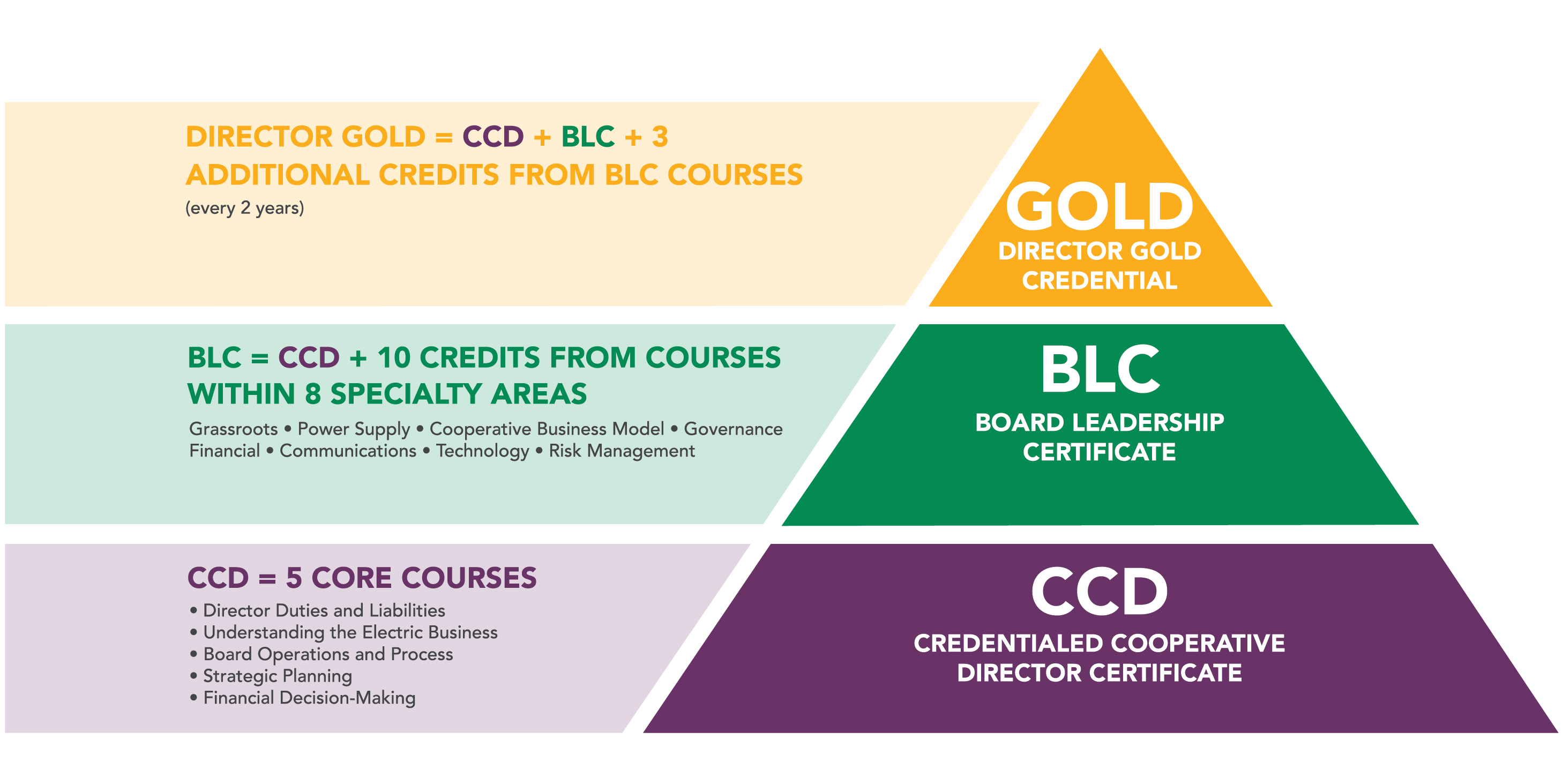 Director Certificate Programs Overview